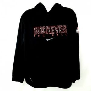 Mens Nike Therma Fit Ohio State Buckeyes Hoodie